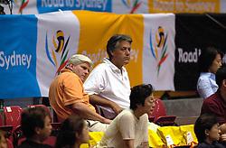 21-06-2000 JAP: OKT Volleybal 2000, Tokyo<br /> Nederland - Croatie 2-3 / Jos Smulders en Jan Tilmans