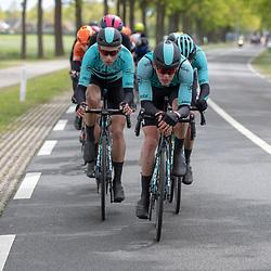 04-05-2019: Wielrennen: Ronde van Overijssel: Rijssen<br />BeatCyclingClub voerde het tempo op in de kopgroep