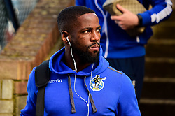 Abu Ogogo of Bristol Rovers arrives at Roots Hall prior to kick off - Mandatory by-line: Ryan Hiscott/JMP - 02/02/2019 - FOOTBALL - Roots Hall - Southend-on-Sea, England - Southend United v Bristol Rovers - Sky Bet League One