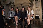 ROBIN SCOTT; SOPHIE COOKSON; ELIOT SUMNER, VIOLET HESKETH, Robin Birley and Lady Annabel Goldsmith Summer Party. Hertford St. London. 5 July 2017