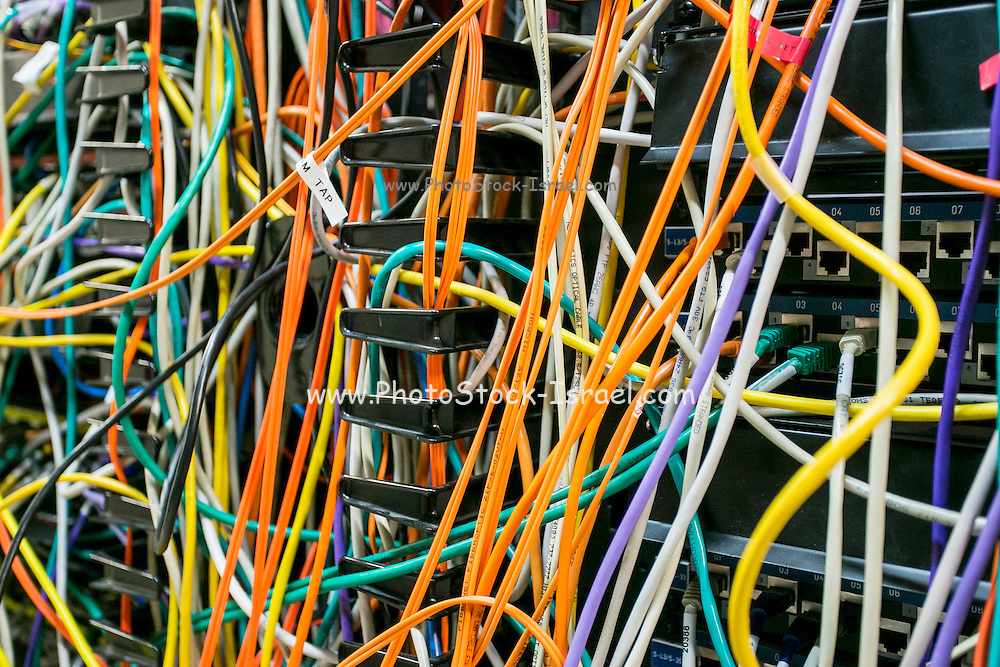 tangled Network cables