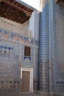 TASH KAULI PALACE   COURTROOM inside the old city  KHIVA  Ouzbekistan  .///.TASH KAULI PALACE  salle du de la cour et de reception.dans la vielle ville  KHIVA  Ouzbekistan .///.OUZB56325