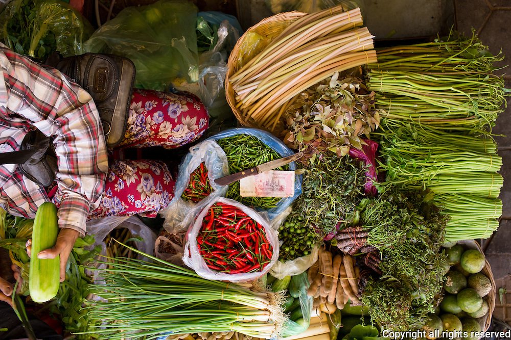 Siem Reap, food, markets, street food, Cambodia