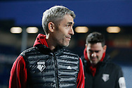 Watford Assistant Coach Zigor Aranalde before The FA Cup 5th round match between Queens Park Rangers and Watford at the Loftus Road Stadium, London, England on 15 February 2019.
