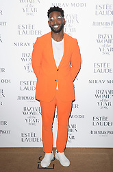 Tinie Tempah attending the Harper's Bazaar Woman of the Year awards at Claridges in London. Picture date: Monday October 31, 2016. Photo credit should read: Isabel Infantes / EMPICS Entertainment.