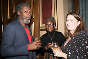 HURVIN ANDERSON; LORNA ANDERSON TenTen. The Government Art Collection/Outset Annual Award. Champagne reception to announce the inaugural artist Hurvin Anderson and unveil his 2018 print. Locarno Suite, Foreign and Commonwealth Office. SW1. 2 October 2018