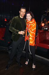 NATHALIE HAMBRO and ANDREAS SIEGFRIED at the 40th birthday party and celebration of 20 years as a leading stylist of David Thomas held at Too2Much club, 11 Walkers Court, London W1 on 22nd March 2006.<br /><br />NON EXCLUSIVE - WORLD RIGHTS