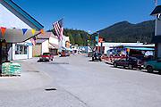 Southeast, Alaska, Wrangell, Street scene