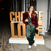 Choose Love shop launch at Foubert's Place, Carnaby on 22 November 2018, London, UK.