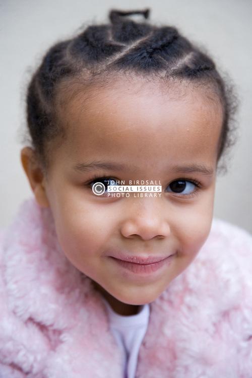 Little girl smiling,