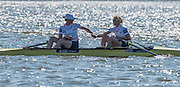 Brandenburg. GERMANY. GBR W2-. right. Helen GLOVER and Heather STANNING. winners womens pair at the<br /> 2016 European Rowing Championships at the Regattastrecke Beetzsee<br /> <br /> Sunday  08/05/2016<br /> <br /> [Mandatory Credit; Peter SPURRIER/Intersport-images]