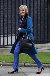 © Licensed to London News Pictures . 29/03/2017 . London , UK . Ministers arriving and leaving for a Cabinet meeting and Prime Minster's Questions , at 10 Downing Street , Westminster . Today (29th March 2017) the British Government will trigger Article 50 of the Lisbon Treaty and commence Britain's withdrawal from the European Union . Photo credit : Joel Goodman/LNP