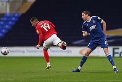 Owen Dale of Crewe Alexandra is tackled by Stephen Ward of Ipswich Town - Mandatory by-line: Arron Gent/JMP - 31/10/2020 - FOOTBALL - Portman Road - Ipswich, England - Ipswich Town v Crewe Alexandra - Sky Bet League One