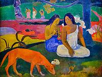 France, Paris (75), zone classée Patrimoine Mondial de l'UNESCO, Musée d'Orsay, Arearea, Paul Gauguin // France, Paris, Orsay museum, Arearea, Paul Gauguin