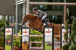 Maarse Dave, NED, Kumari<br /> Nationaal Kampioenschap KWPN<br /> 5 jarigen springen final<br /> Stal Tops - Valkenswaard 2020<br /> © Hippo Foto - Dirk Caremans<br /> 19/08/2020