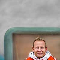 The Netherlands, Vught, 04-11-2014.<br /> Hockey, Dutch Team, Women.<br /> Sjoerd Marijne, the trainer/coach of the dutch women field hockey team.<br /> Photo : Klaas Jan van der Weij