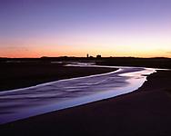 Cape Cod National Seashore, Massachusetts, Race Point Lighthouse,  Flowing water, dus