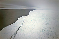View Of Ice Pack From Helicopter During Rescue