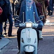 NLD/Amsterdam/20121208 - Herdenkingsdienst voor de verleden Jeroen Willems, Maik de Boer