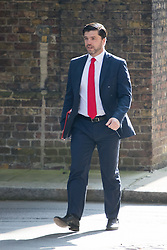 Downing Street, London, May 17th 2016. Work and Pensions Secretary Stephen Crabb arrives at the weekly cabinet meeting in Downing Street.