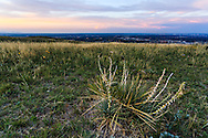 A partial view of the Denver area from the William F. Hayden Park on Green Mountain in Lakewood, Colorado. WATERMARKS WILL NOT APPEAR ON PRINTS OR LICENSED IMAGES.