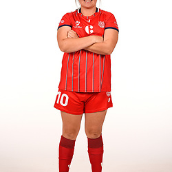 BRISBANE, AUSTRALIA - FEBRUARY 24:  during the Olympic FC NPL Womens Portrait Session on February 24, 2021 in Brisbane, Australia. (Photo by Patrick Kearney)