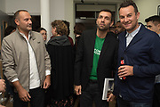 VALERIO INNETTA;, MASSIMO GIORGETTI; JAMES MORRIS, The Verve, photographs by Chris Floyd ... Art Bermondsey Project Space, London. 6 September 2017