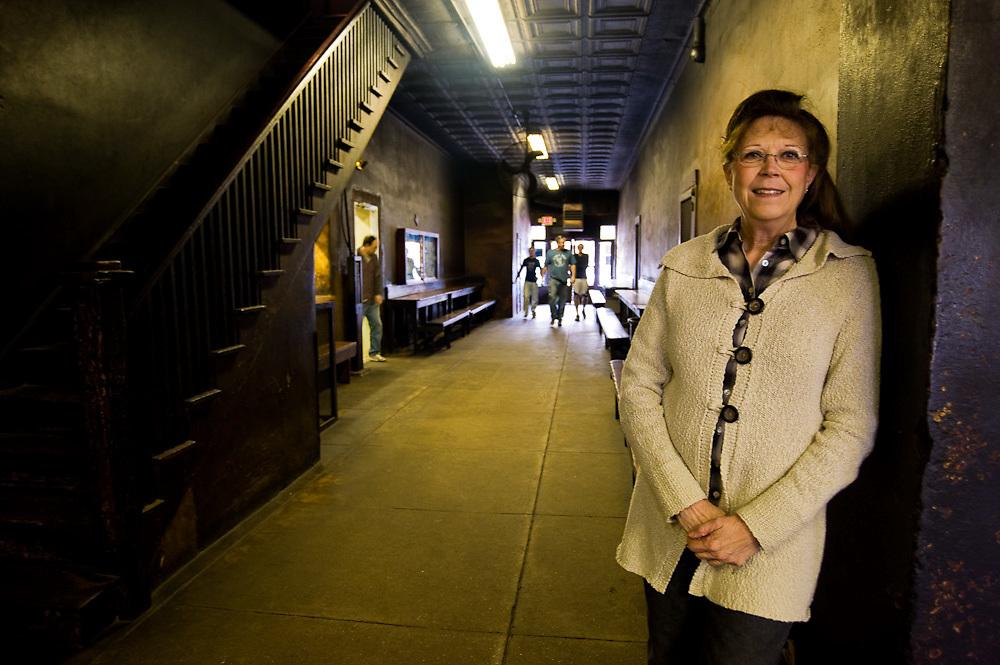 Nina Schmidt Sells, Owner Smitty's Market- Lockhart, Texas