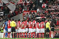 20111106: BRAGA, PORTUGAL - SC Braga vs SL Benfica: Liga Zon Sagres 10th Round 2011/2012. In picture: Braga starting team. PHOTO: Pedro Benavente/CITYFILES