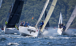 Sailing - SCOTLAND  - 25th-28th May 2018<br /> <br /> The Scottish Series 2018, organised by the  Clyde Cruising Club, <br /> <br /> First days racing on Loch Fyne.<br /> <br /> GBR1121L, Tangaroa, Eliz & Des Balmforth, CCC, Pronavia 38<br /> <br /> Credit : Marc Turner<br /> <br /> <br /> Event is supported by Helly Hansen, Luddon, Silvers Marine, Tunnocks, Hempel and Argyll & Bute Council along with Bowmore, The Botanist and The Botanist