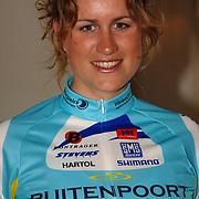 NLD/Oosterbeek/20060321 - Presentatie nieuwe dames wielerploeg Buitenpoort - Flexpoint Team, Vera Koedooder