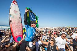 October 25, 2017 - Gabriel Medina (BRA) is the winner on the Final at MEO Rip Curl Pro Portugal 2017 in Peniche, Portugal..MEO Rip Curl Pro Portugal 2017 - 25 Oct 2017 (Credit Image: © Rex Shutterstock via ZUMA Press)