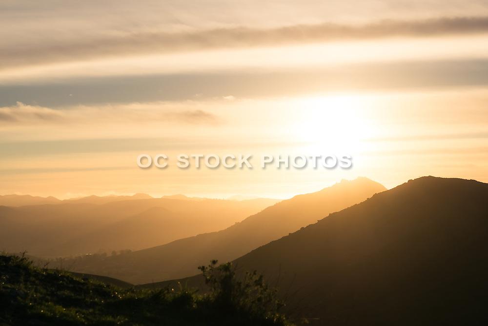 San Luis Obispo Landscape at Sunset
