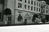 1987 Club Hollywood on Hollywood Blvd.
