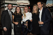 EDDIE BOXSHALL; NATALIE PINKHAM; DENISE VAN OUTEN; ANNEKA GILKES; CHARLIE GILKES,  Cahoots club launch party, 13 Kingly Court, London, W1B 5PW  26 February 2015