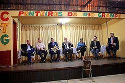 José Fortunati durante debate entre candidatos à Prefeitura de Porto Alegre da Associação dos Sargentos Subtenentes e Tenentes da Brigada Militar. FOTO: Jefferson Bernardes/Preview.com