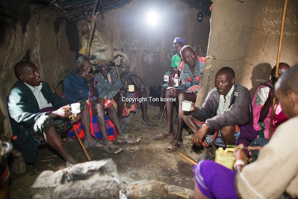 Samburu tribe in Northern Kenya