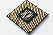 Intel core duo computer microprocessor <br /> <br /> Editions:- Open Edition Print / Stock Image