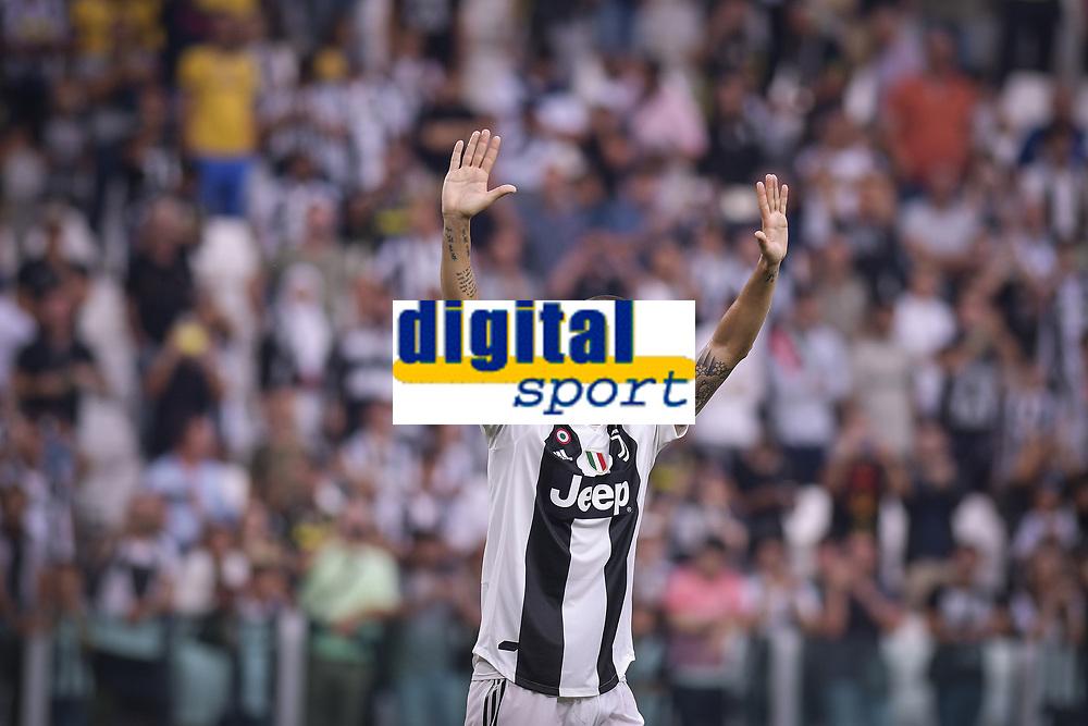 Leonardo Bonucci Juventus <br /> Torino 25-08-2018 Allianz Stadium Football Calcio Serie A 2018/2019 Juventus - Lazio Foto OnePlusNine / Insidefoto