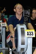 Birmingham, GREAT BRITAIN, Women J15, Rachel GAMBLE-FLINT, competing at the British Indoor Rowing Championships, National Indoor Arena, Birmingham, ENGLAND. 12/11/2006, [Photo, Peter Spurrier/Intersport-images].....