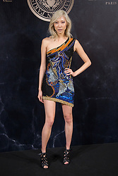 Soo Joo Park attends the L'Oreal Paris X Balmain event as part of the Paris Fashion Week Womenswear Spring/Summer 2018 in Paris, France, September 28 2017. Photo by Nasser Berzane/ABACAPRESS.COM