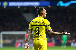 November 6, 2018 - Madrid, MADRID, SPAIN - Paco Alcacer of Borussia during the UEFA Champions League football match between Atletico de Madrid and Borussia Dormund on November 06th, 2018 at Estadio Wanda Metropolitano in Madrid, Spain. (Credit Image: © AFP7 via ZUMA Wire)