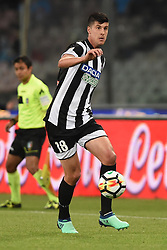 April 18, 2018 - Naples, Naples, Italy - Stipe Perica of Udinese Calcio during the Serie A TIM match between SSC Napoli and Udinese Calcio at Stadio San Paolo Naples Italy on 18 April 2018. (Credit Image: © Franco Romano/NurPhoto via ZUMA Press)