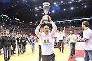 DESCRIZIONE : Milano Final Eight Coppa Italia 2014 Finale Montepaschi Siena - Dinamo Banco di Sardegna Sassari<br /> GIOCATORE : Stefano Sardara<br /> CATEGORIA : Presidente Esultanza Coppa<br /> SQUADRA : Dinamo Banco di Sardegna Sassari<br /> EVENTO : Final Eight Coppa Italia 2014 Milano<br /> GARA : Montepaschi Siena - Dinamo Banco di Sardegna Sassari<br /> DATA : 09/02/2014<br /> SPORT : Pallacanestro <br /> AUTORE : Agenzia Ciamillo-Castoria / Luigi Canu<br /> Galleria : Final Eight Coppa Italia 2014 Milano<br /> Fotonotizia : Milano Final Eight Coppa Italia 2014 Finale Montepaschi Siena - Dinamo Banco di Sardegna Sassari<br /> Predefinita :