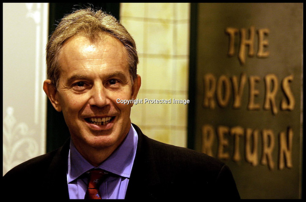 Prime Minister Tony Blair  at the Granda Studios where they are holding the Itv party  PRESS ASSOCIATION Photo. Picture date:Wednesday 27th September  , 2006. Photo credit should read: Andrew Parsons/PA. POOL
