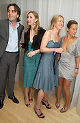 Philip Knatchbull, Allegra Hicks, Lady Helen Taylor and Jade Jagger. An evening in aid of cancer charity Clic Sargent held at the Sanderson Hotel, Berners Street, London on 4th July 2005ONE TIME USE ONLY - DO NOT ARCHIVE  © Copyright Photograph by Dafydd Jones 66 Stockwell Park Rd. London SW9 0DA Tel 020 7733 0108 www.dafjones.com
