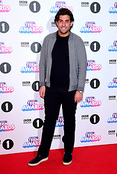 James 'Arg' Argent attending BBC Radio 1's Teen Awards, at the SSE Arena, Wembley, London.