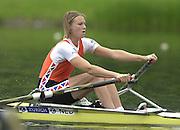 2002 FISA World Cup. Hazewinkel. BEL.       Friday  14/06/2002     .email images@Intersport-images.com.[Mandatory Credit: Peter Spurrier/Intersport Images]  .                                 /06/2002.Rowing    .W1X NED Hurnet DEKKERs. Rowing, FISA WC.Hazenwinkel, BEL