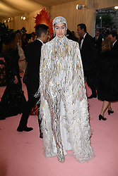 Gigi Hadid attends The 2019 Met Gala Celebrating Camp: Notes on Fashion at Metropolitan Museum of Art on May 06, 2019 in New York City.<br /> Photo by ABACAPRESS.COM