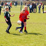 Schoolvoetbal 2003 Huizen, Springplank meisjes